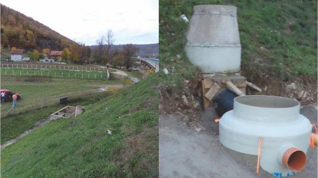 Zamjena betonskih separatora na dionici Jošanica-Podlugovi