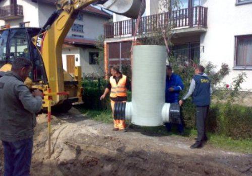 Isporuka šahtova za projekat odvodnje i prečišćavanja otpadnih voda Bihać