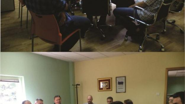 Radna posjeta u vezi projekta kanalizacije Bihać